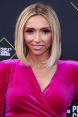 Giuliana Rancic At 45th Annual People's Choice Awards, Arrivals, Barker Hanger, Los Angeles