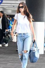 Camila Morrone At LAX Airport