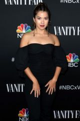 Nichole Bloom At NBC And Vanity Fair's Celebration Of The Season in Los Angeles