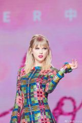 Taylor Swift At Lover M&G in Guangzhou, China