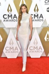 Gigi Hadid At 53rd Annual CMA Awards, Arrivals, Bridgestone Arena, Nashville
