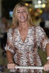 Kate Garraway At Brisbane Airport in Australia