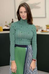 Kaya Scodelario At Lacoste VIP Lounge at the 2019 ATP World Tour Tennis Finals in London, England -