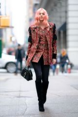 Charlotte Lawrence Out and about in NY