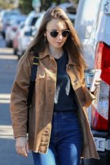 Lily Collins Out for coffee in LA
