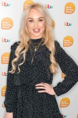 Jorgie Porter At 'Good Morning Britain' TV show, London