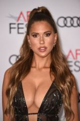 Kara del Toro At 'The Aeronauts' film gala screening during AFI Fest in Los Angeles