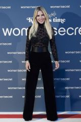 Elsa Pataky At 'KissMas Time' by Women'Secret in Madrid