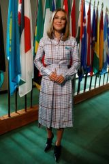 Millie Bobby Brown At UNICEF summit celebrations marking Childrens Day in New York City