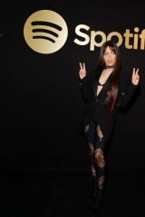 Camila Cabello At A Celebration For Artists hosted by Spotify in West Hollywood