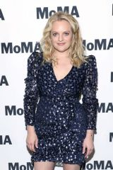 Elisabeth Moss At screening of Alex Ross Perry's 'Her Smell' at The Museum of Modern Art in NY