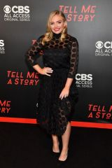"Natalie Alyn Lind At ""Tell Me a Story"" Season 2 Nashville Premiere at Ford Theater at Country Music Hall of Fame"