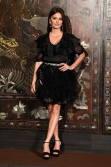Penelope Cruz At Chanel Metiers d'art 2019-2020 show in Paris
