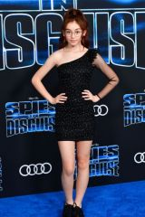 Anna Cathcart At 'Spies in Disguise' premiere in Hollywood