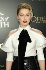 Amber Heard At 14th Annual L'Oreal Paris Women Of Worth Awards in New York City