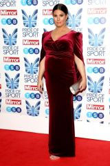 Rebekah Vardy At The Mirror Pride of Sport Awards in London