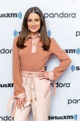 Lea Michele At SiriusXM Studios in New York City