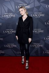 Meg Donnelly At Lancôme x Vogue L'Absolu Ruby Holiday Event at Raspoutine in West Hollywood, California