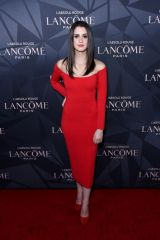 Laura Marano At Lancôme x Vogue L'Absolu Ruby Holiday Event at Raspoutine in West Hollywood