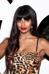 Jameela Jamil At 2019 GQ Men of the Year at The West Hollywood Edition in West Hollywood, California