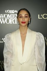 Cara Santana At 14th Annual L'Oreal Paris Women of Worth Awards at The Pierre Hotel in New York City