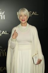 Helen Mirren At 14th Annual L'Oreal Paris Women of Worth Awards at The Pierre Hotel in New York City