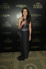 Andie MacDowell At 14th Annual L'Oreal Paris Women of Worth Awards at The Pierre Hotel in New York City