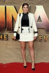 Imogen Thomas At ''Jumanji: The Next Level'' UK Film Premiere at BFI Southbank in London
