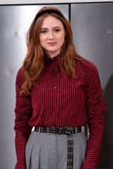 Karen Gillan Visits the 'Lorraine' show in London