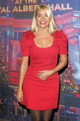 Holly Willoughby Attends the Emma Bunton Christmas Party at Royal Albert Hall in London