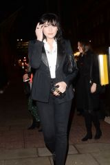 Daisy Lowe Arrives at Tanquery No Ten launch