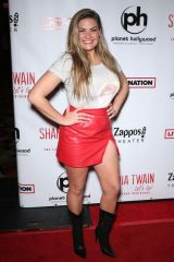 Brittany Cartwright At Shania Twain 'Let's Go!' residency grand opening, Zappos Theater, Las Vegas