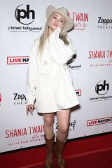 Kim Petras At Shania Twain 'Let's Go!' residency grand opening, Zappos Theater, Las Vegas