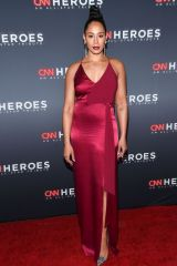 Margot Bingham At 13th Annual CNN Heroes: An All-Star Tribute, Arrivals, American Museum of Natural History, New York