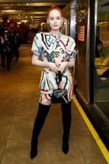 Madelaine Petsch At Moschino Prefall 2020 Runway Show in Brooklyn