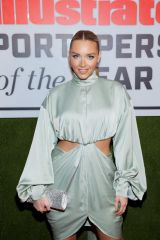 Camille Kostek At Sports Illustrated Sportsperson Of The Year 2019 in NYC