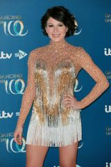 Lucrezia Millarini At 'Dancing On Ice' TV show, Series 11 launch photocall, Old Bovingdon Airfield, Hertfordshire