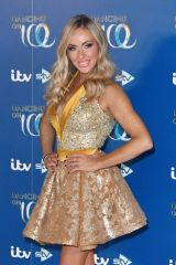 Brianne Delcourt At 'Dancing On Ice' TV show, Series 11 launch photocall, Old Bovingdon Airfield, Hertfordshire