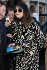 Selena Gomez Arriving at Capital Breakfast Radio Studios in London