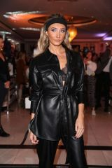 Megan McKenna At launch event at Boux Avenue store in Oxford Street, London