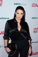 Angela White At Adult Video News Awards Nominations Announcement in Hollywood