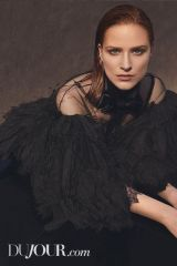 Evan Rachel Wood - DuJour Magazine, Winter 2019