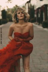 Madchen Amick - Mr. Warburton magazine December 2019