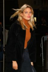 Martha Hunt Arrives at Z100 Jingle Ball in New York