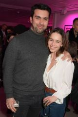 Emilia Clarke At Press night after party for The Donmar's 'Teenage Dick' at The h Club in London