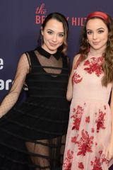 Veronica Jo Merrell and Vanessa Jo Merrell At Streamy Awards, Arrivals, The Beverly Hilton, Los Angeles
