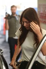 Camila Morrone Leaves E Baldi after a nice lunch