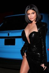 Kylie Jenner Heading to Music Mogul 'P.Diddy's' Private Exclusive A-List Party in Holmby Hills