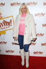 "Denise Van Outen Attends the press night performance of ""Nativity! The Musical"" at The Eventim Apollo, Hammersmith in London"