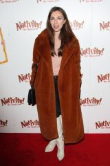 "Louisa Lytton Attends the press night performance of ""Nativity! The Musical"" at The Eventim Apollo, Hammersmith in London"